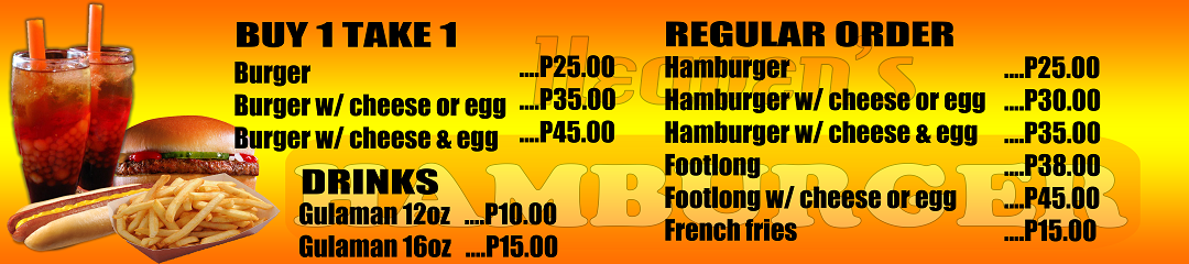 Heaven's Hamburger Food Cart Franchise Php59,000 - Food ...