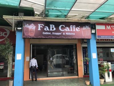 FaB Caffe' Franchise P499,000!