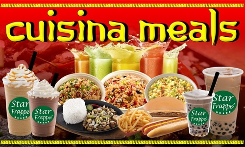 Cuisina Meals Food Cart Franchise