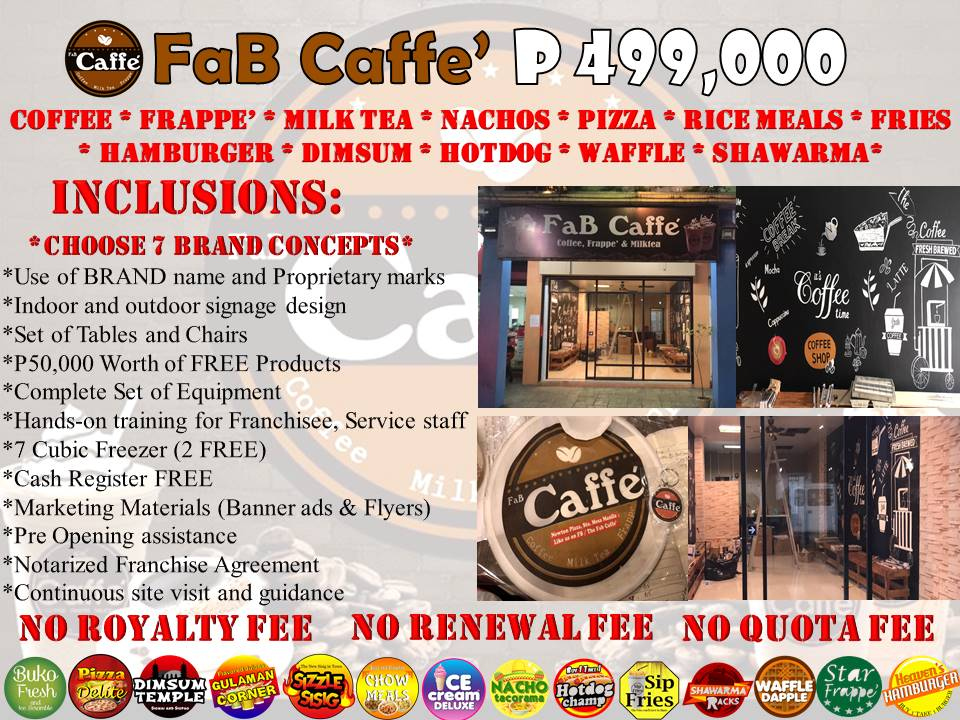 FaB Caffe' Franchise Business