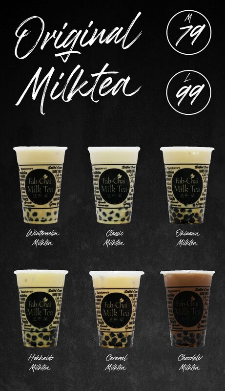 Fab-Chai Milk Tea P99,000 (First 10 Franchisee Only)