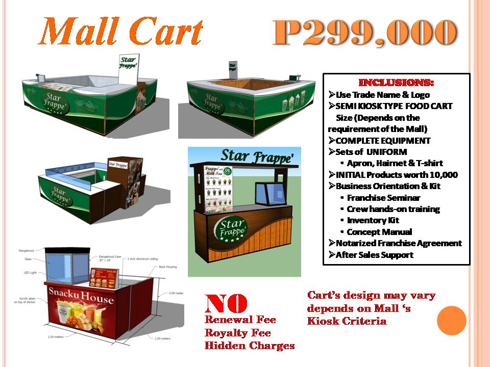 Mall Cart Kiosk Cart Food Cart Franchise