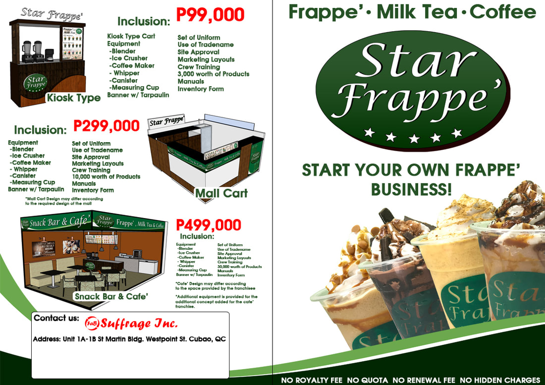 Star Frappe Food Cart Franchise