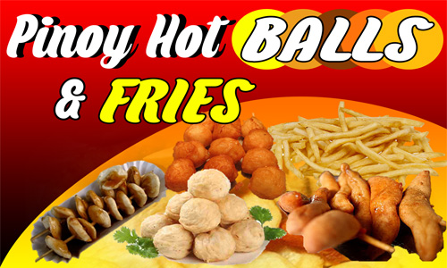 Pinoy Hot Balls Food cart Franchise