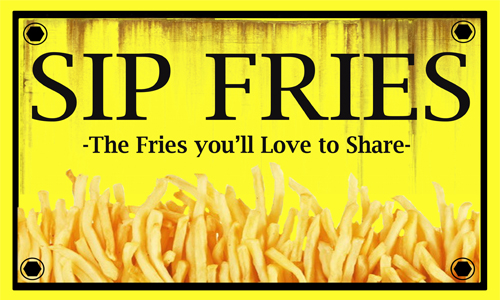 Sip Fries Food cart Franchise